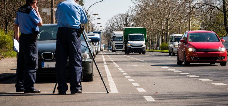 pokuty v Německu řidič kamionu 2020