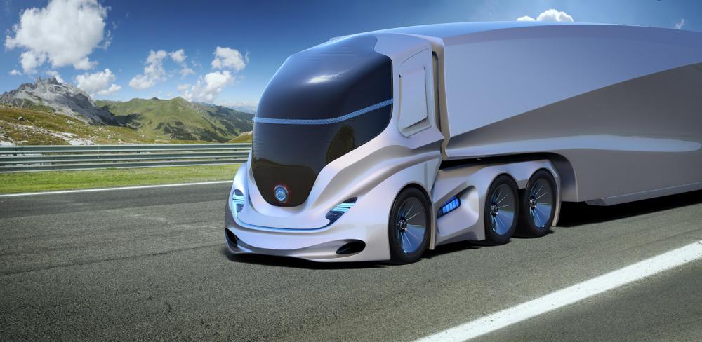 samořízené kamiony logistika doprava vývoj kamionová doprava