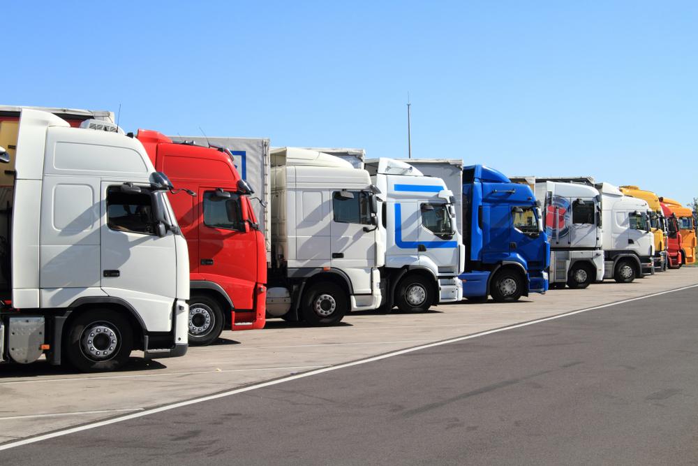 řidič kamionu v německu